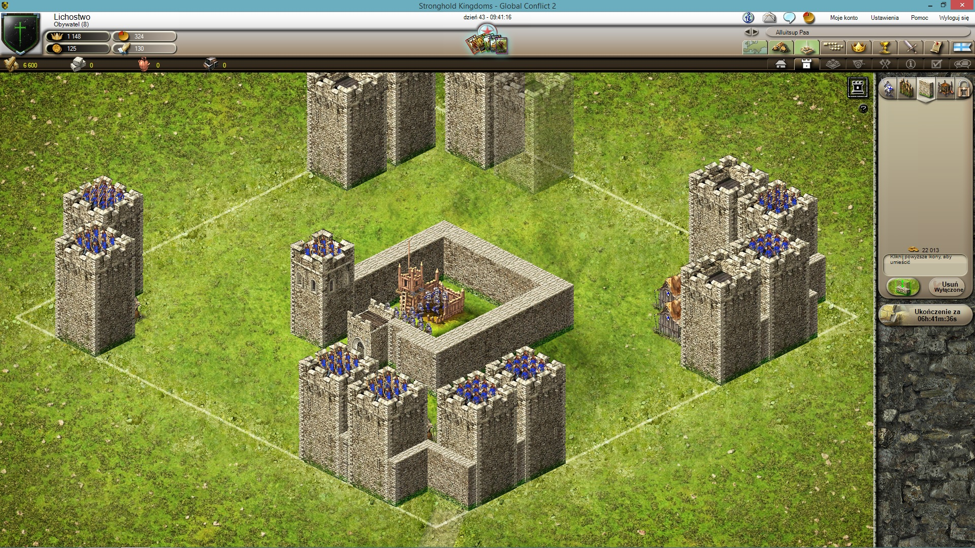 Stronghold Kingdoms gra strategiczna