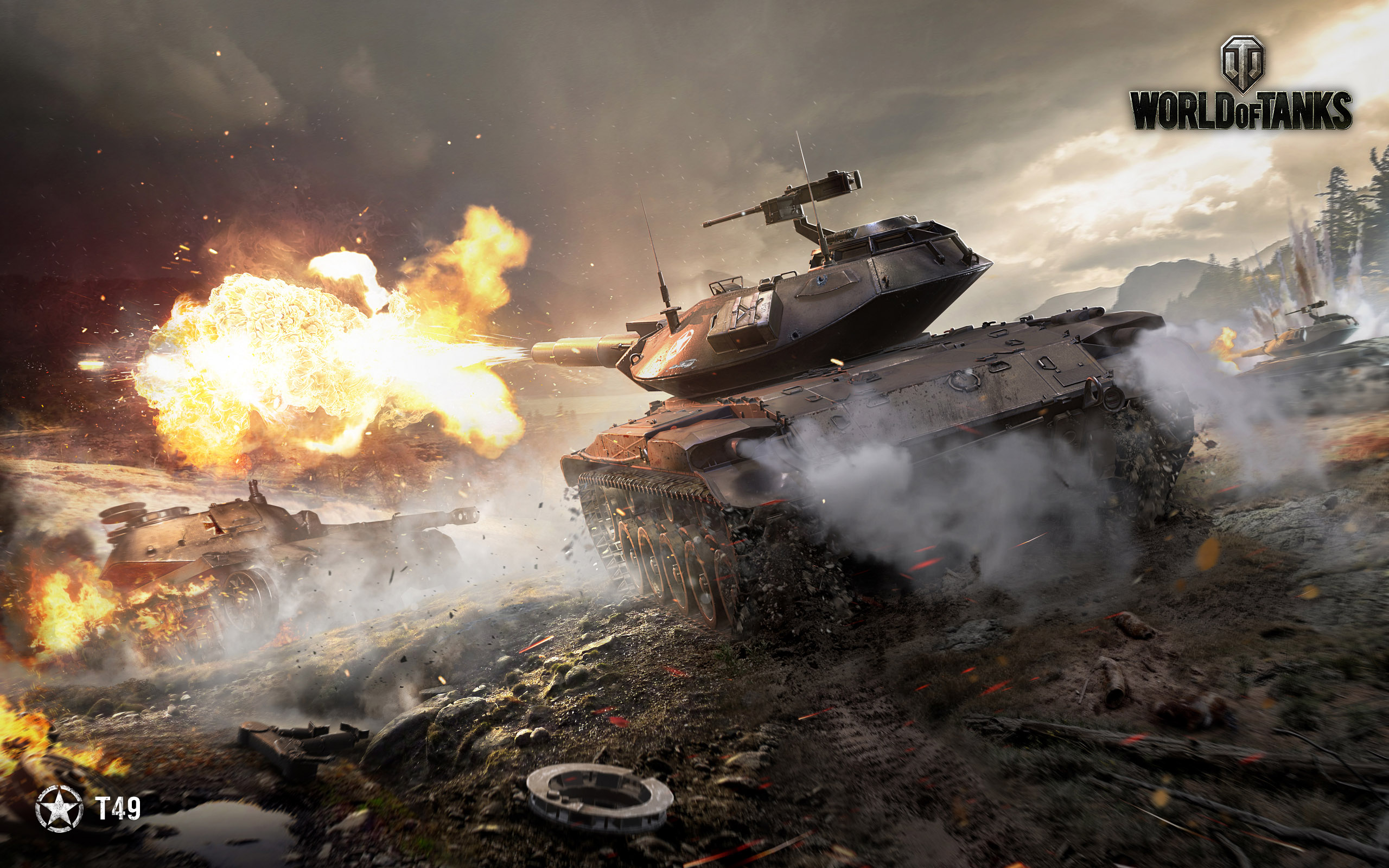 top shootery World of Tanks