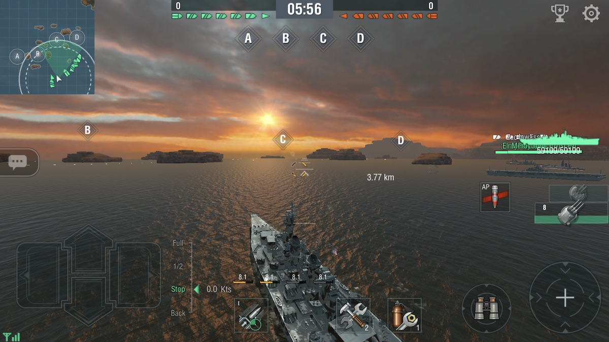 world of warships blitz android ios