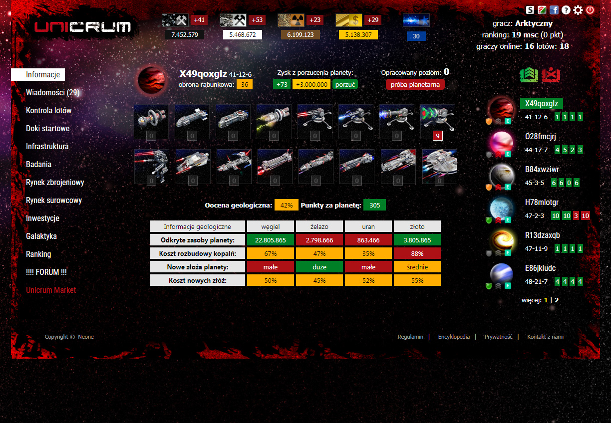 Unicrum gra multiplayer