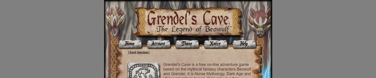 gra Grendel's Cave, the Legend of Beowulf