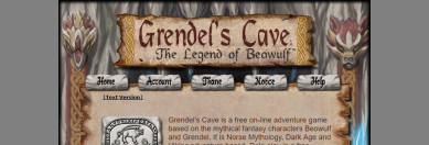 Grendel's Cave, the Legend of Beowulf