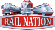 Rail Nation logo gry png