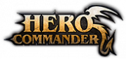 Hero Commander logo gry png