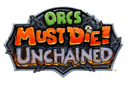 Orcs Must Die! Unchained logo gry png