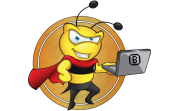BeeFighters logo gry png