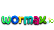 Wormax logo gry png