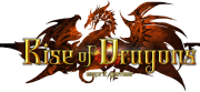 Rise of Dragons logo gry png