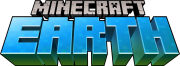 Minecraft Earth logo gry png