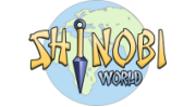Shinobi World logo gry png