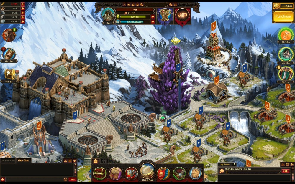 Vikings: War of Clans  zagrajmy