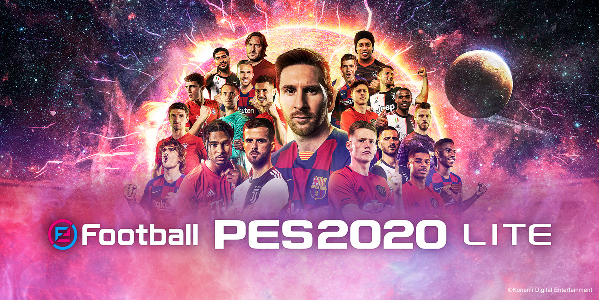 PES 2020 gra mobile eFootball