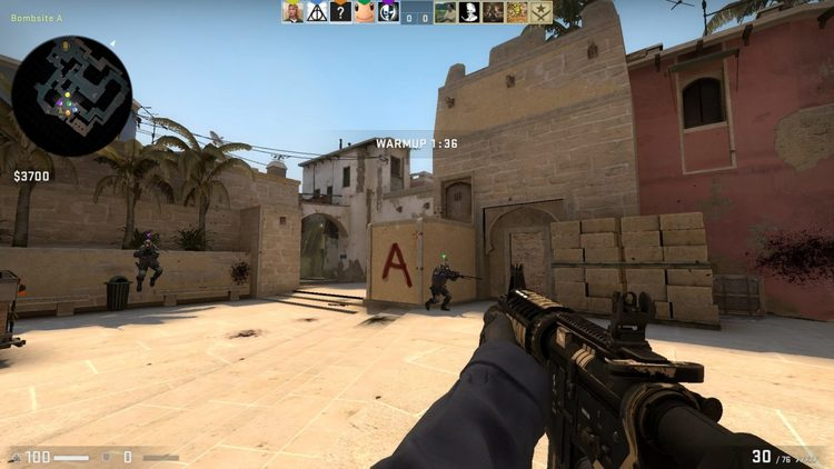 Counter-Strike: Global Offensive camper