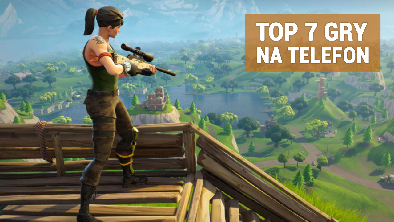 Fortnite gra na telefon
